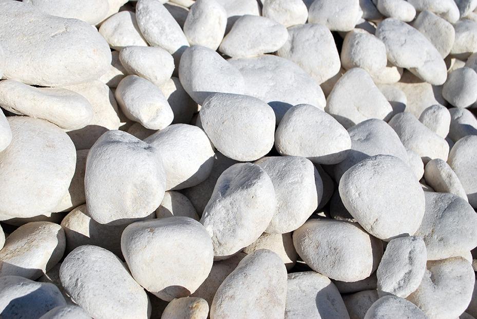 Galet marbre blanc 40/60 - FT Environnement - Fabrication de terre ...